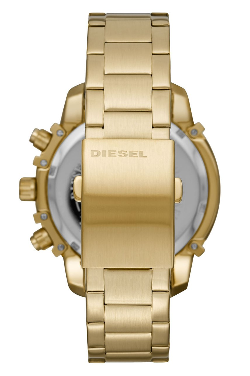 Griffed Gold-Tone Chronograph Watch