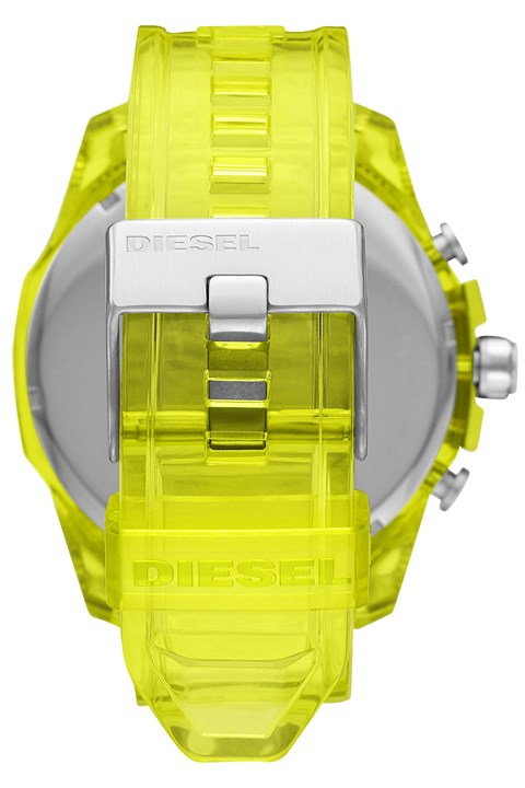 Mega Chief Yellow Chronograph Watch -