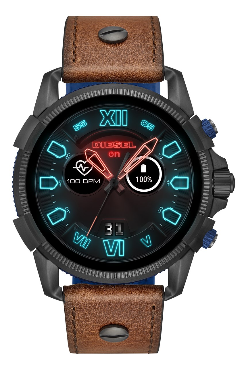 Men's Full Guard 2.5 Brown Smartwatch