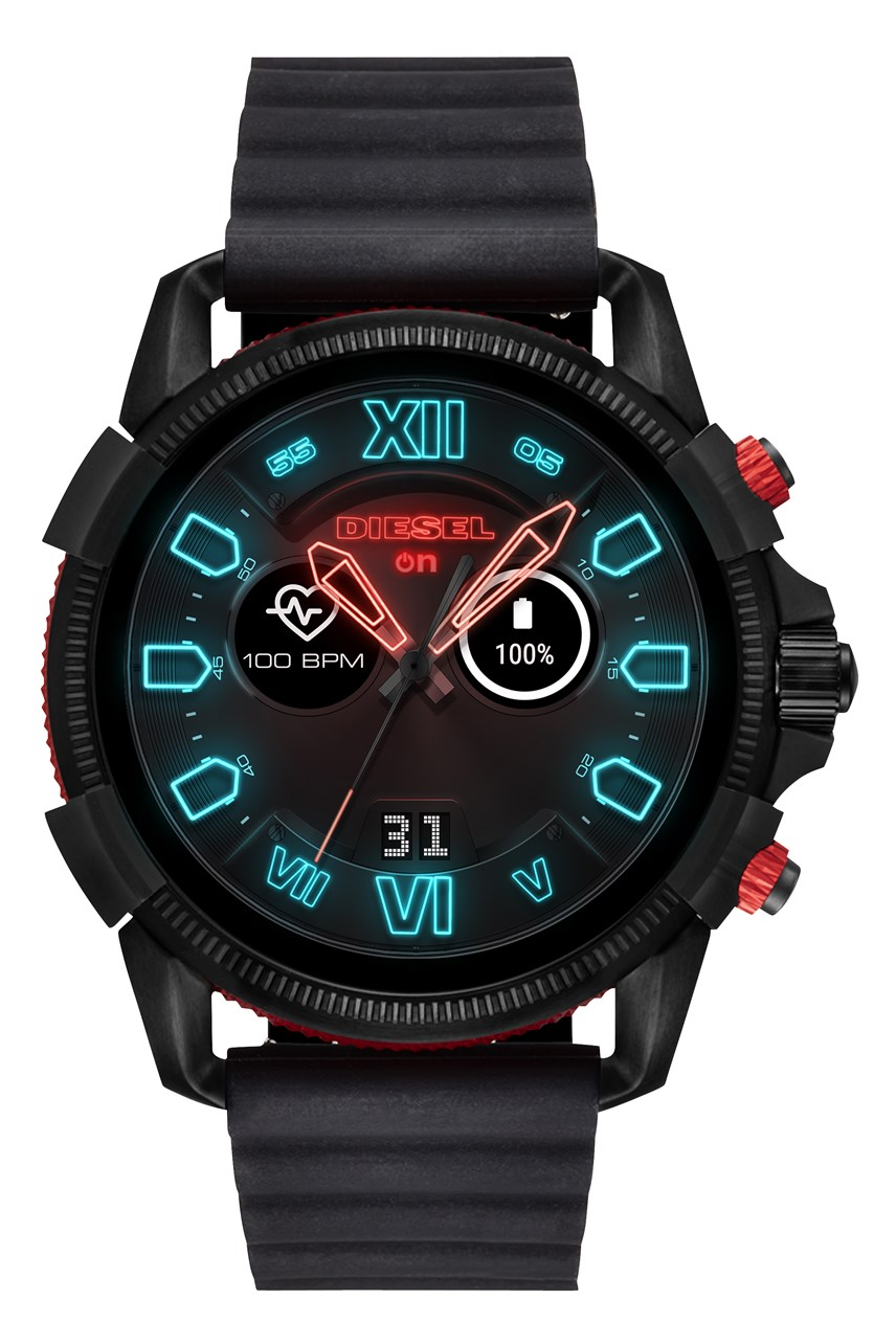Men's Full Guard 2.5 Black Smartwatch