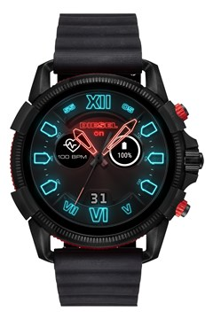 Men's Full Guard 2.5 Black Smartwatch - black