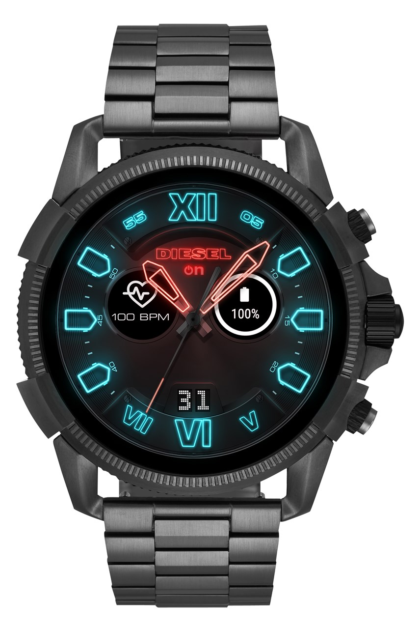 Men's Full Guard 2.5 Gunmetal Smartwatch