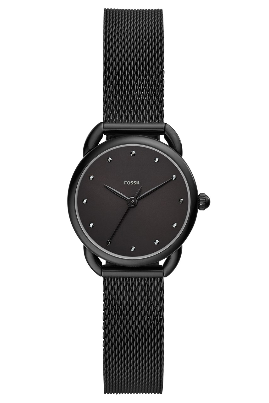 Women's Tailor Black Analogue Watch