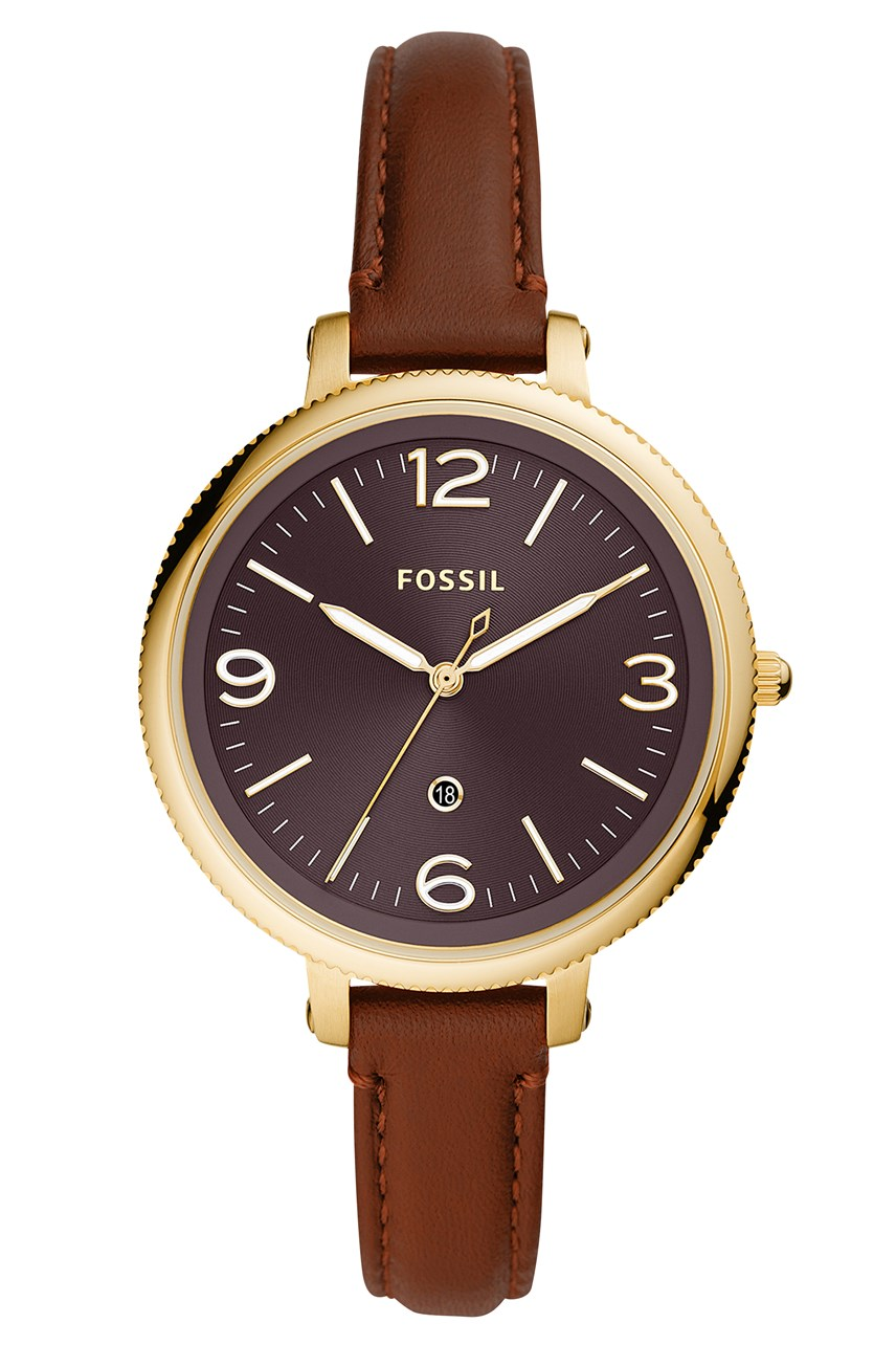 Monroe Brown Analogue Watch