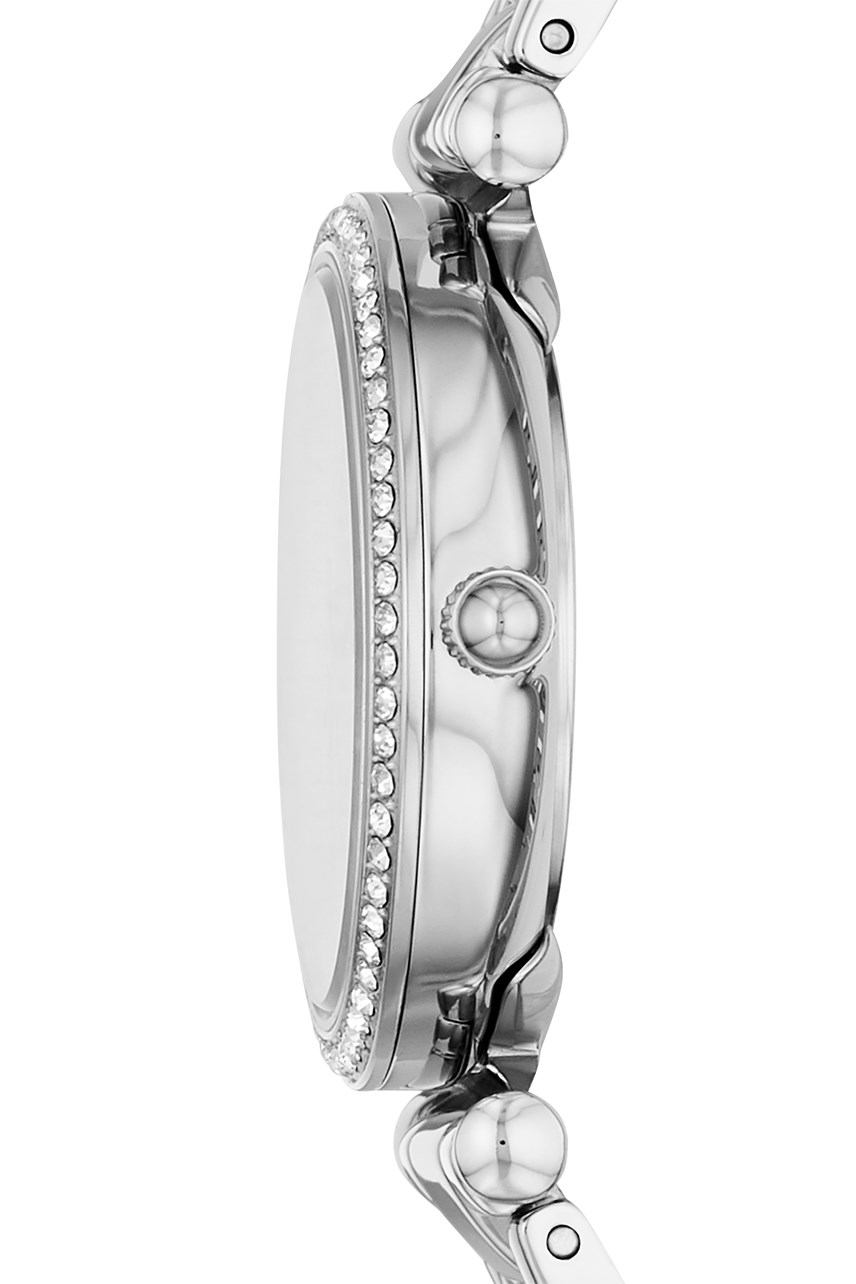 Carlie Mini Silver-Tone Analogue Watch