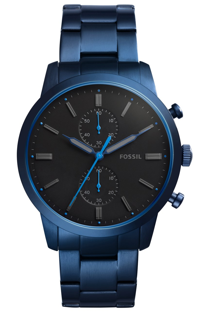 Men's Townsman Blue Chronograph Watch