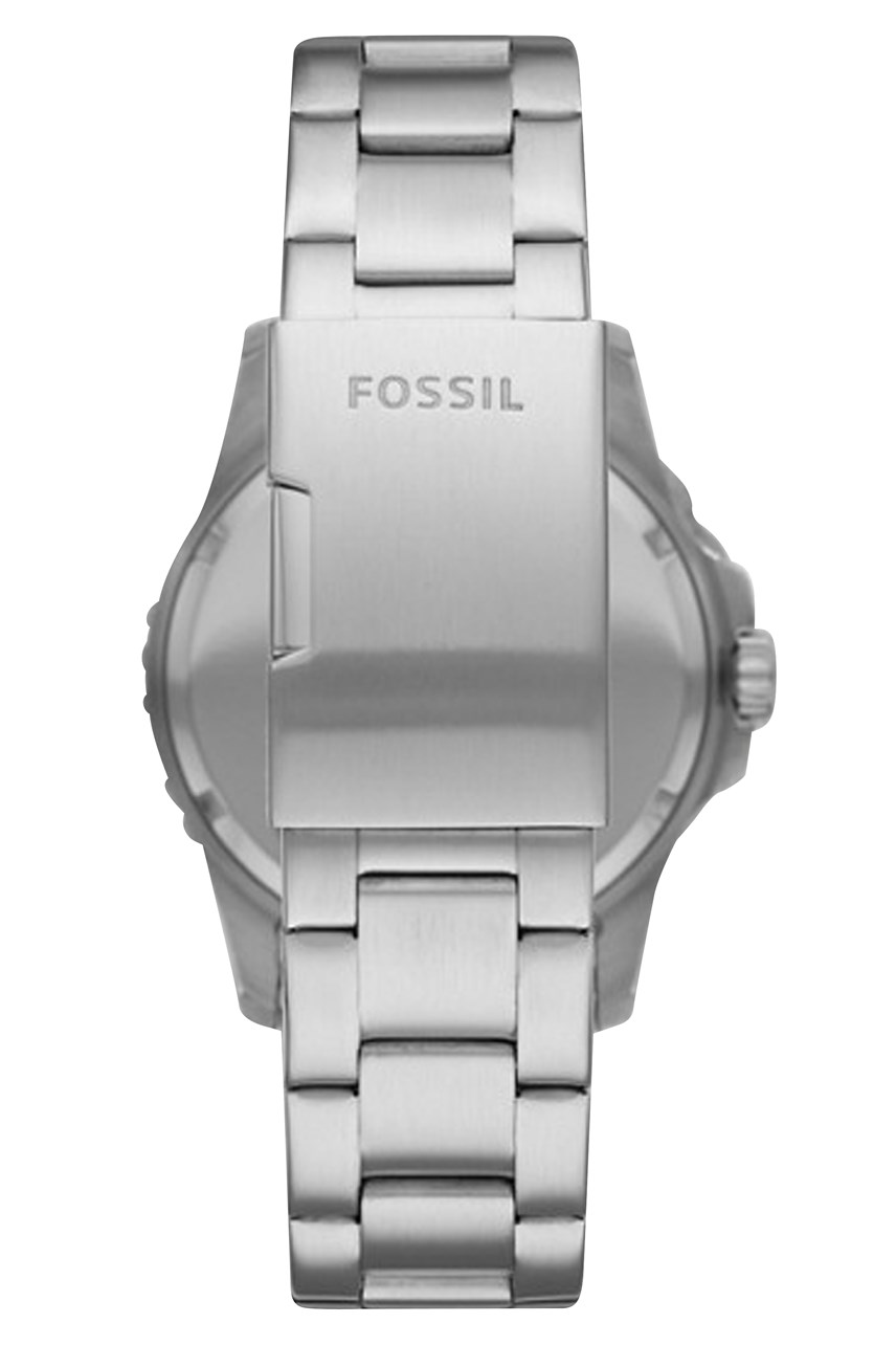 Fb-01 Silver-Tone Analogue Watch