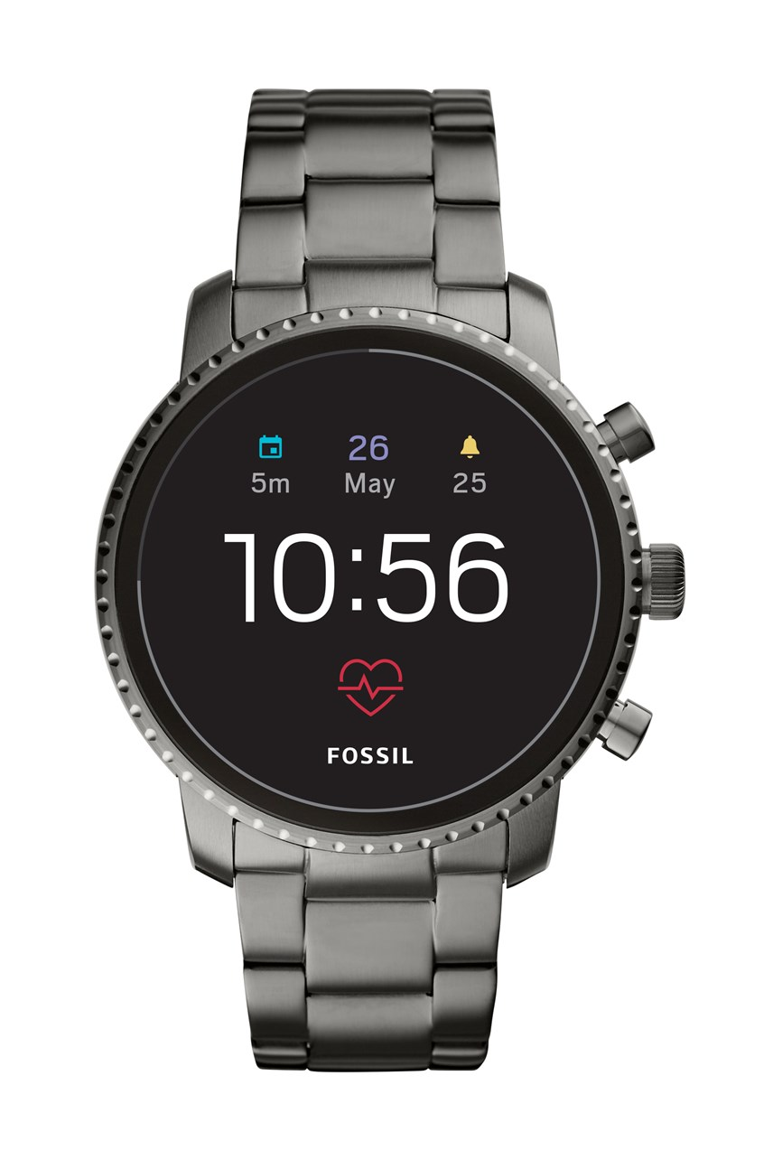 Men's Q Explorist Grey Smartwatch