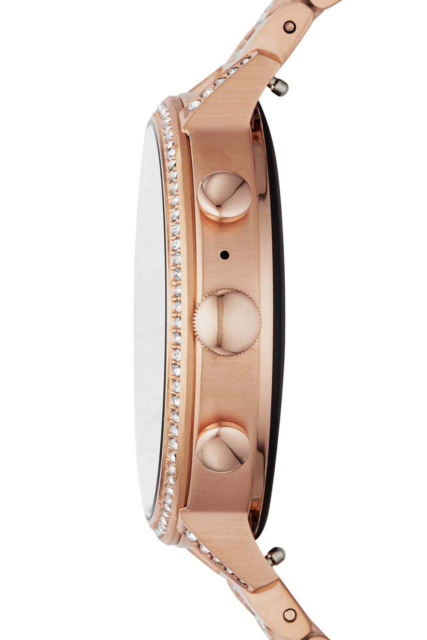 Women's Q Venture Rose Gold-Tone Smartwatch