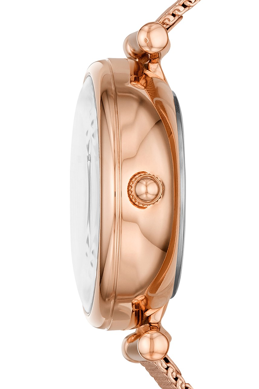 Carlie Mini Me Rose Gold-Tone Analogue Watch