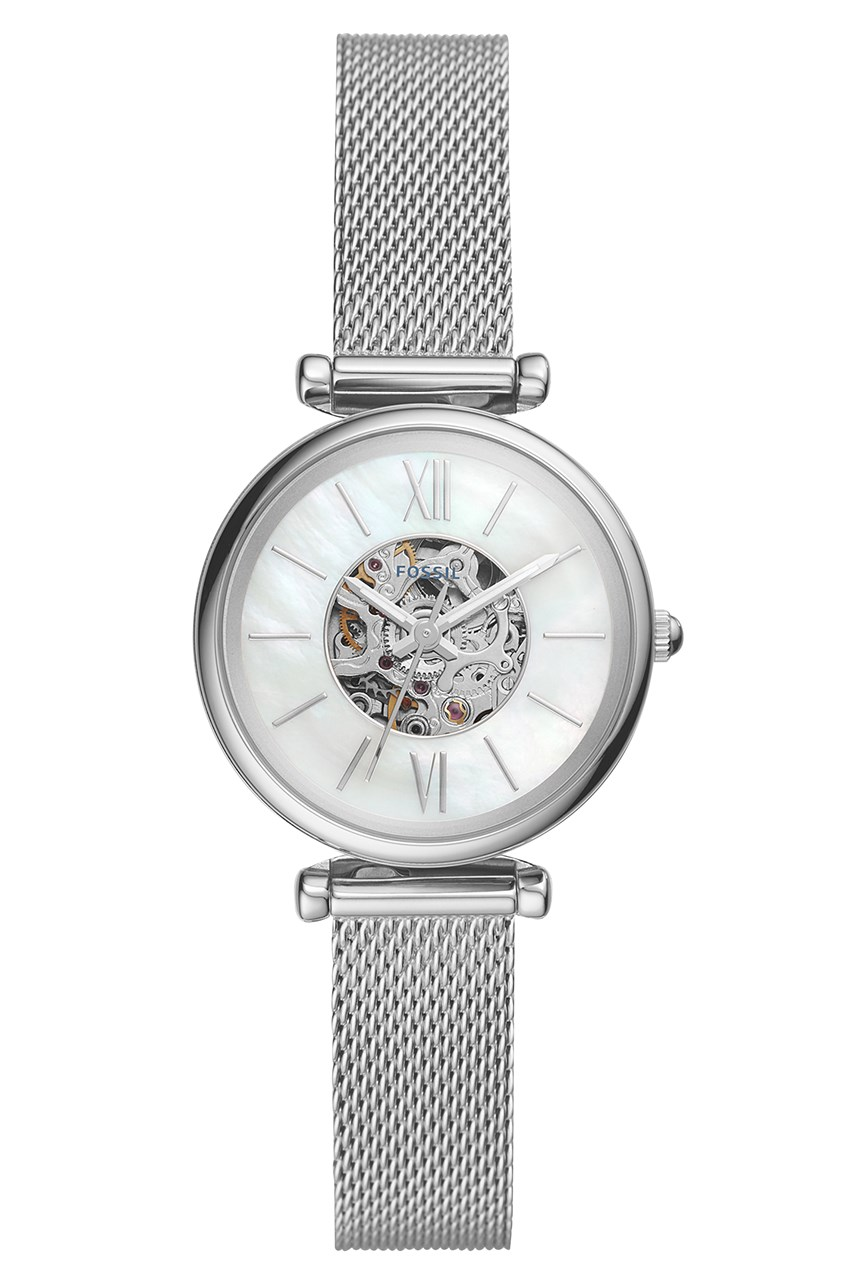 Carlie Mini Me Silver-Tone Analogue Watch