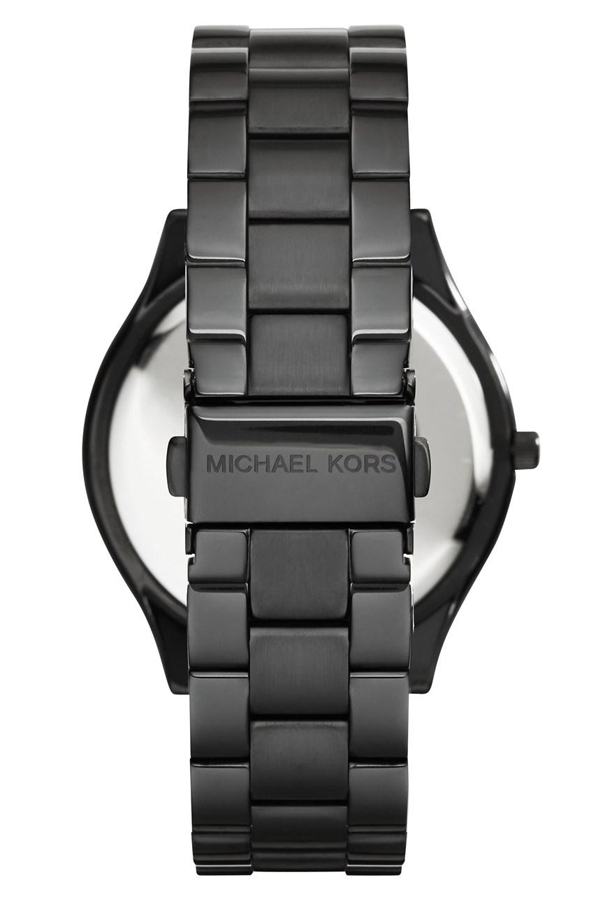 Slim Runway Black Analogue Watch
