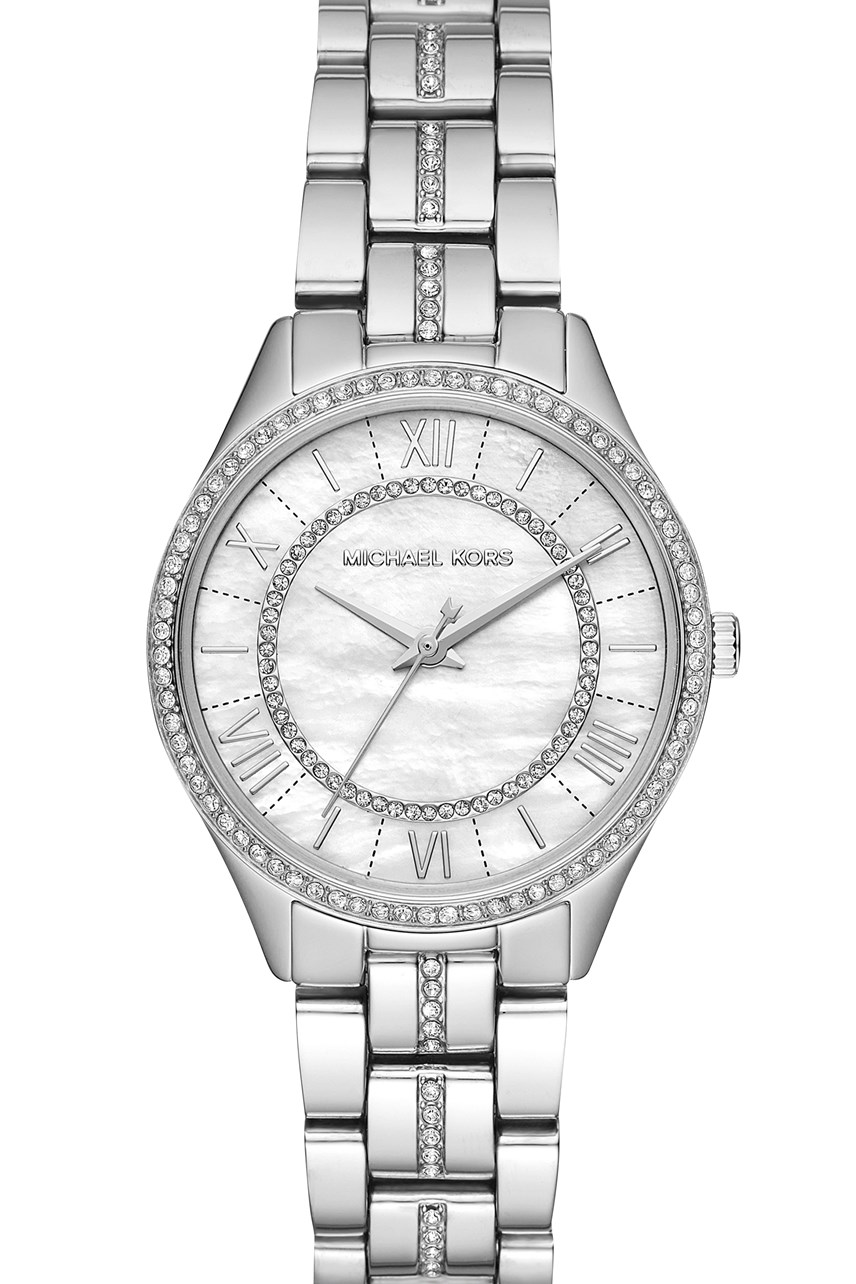 Lauryn Silver-Tone Analogue Watch