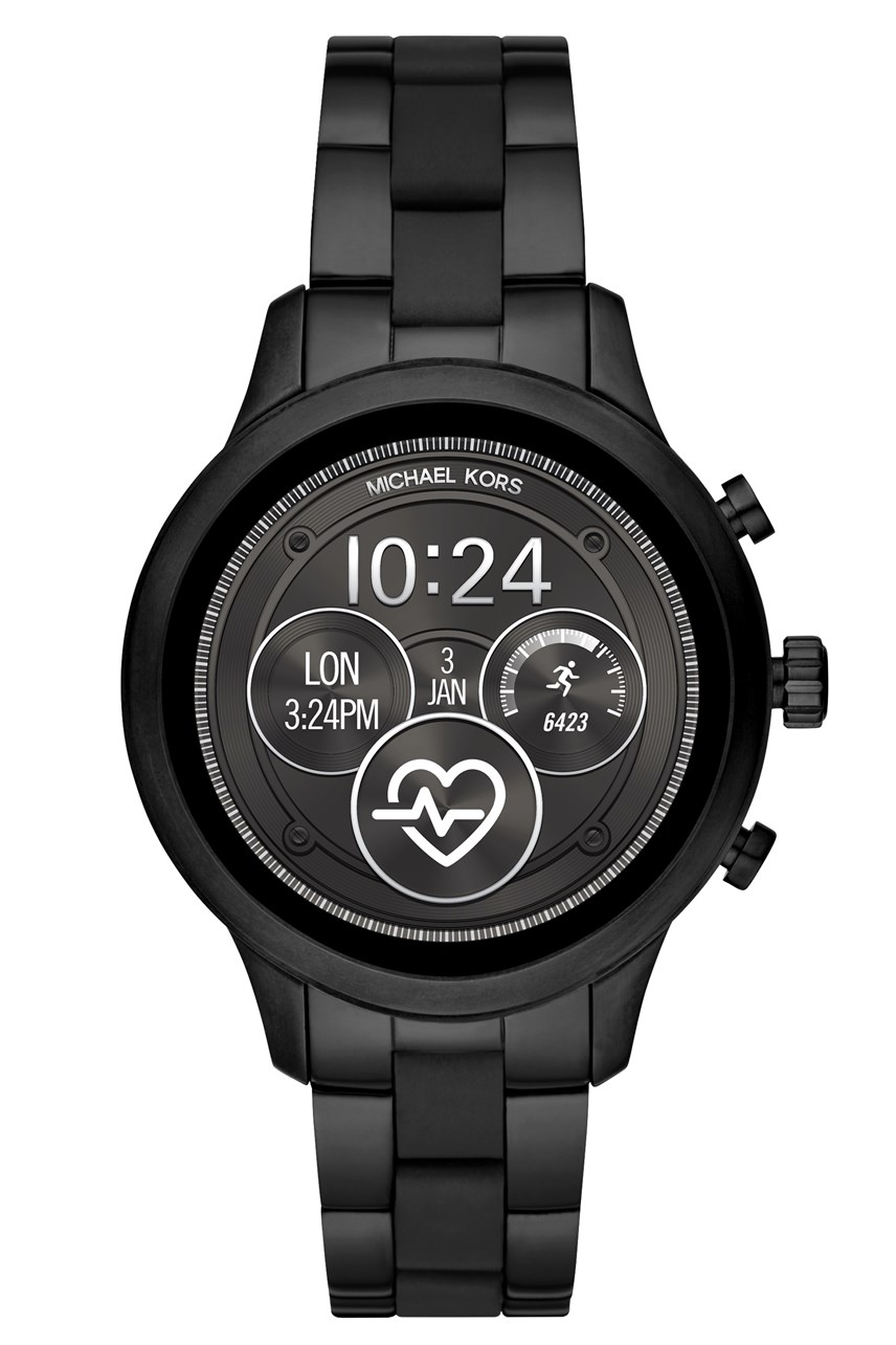 Women's Runway Black Full Display Smartwatch