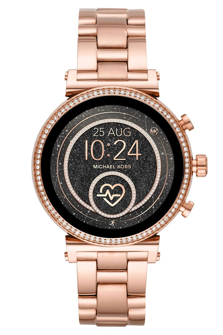 Sofie Rose Gold Display Smartwatch