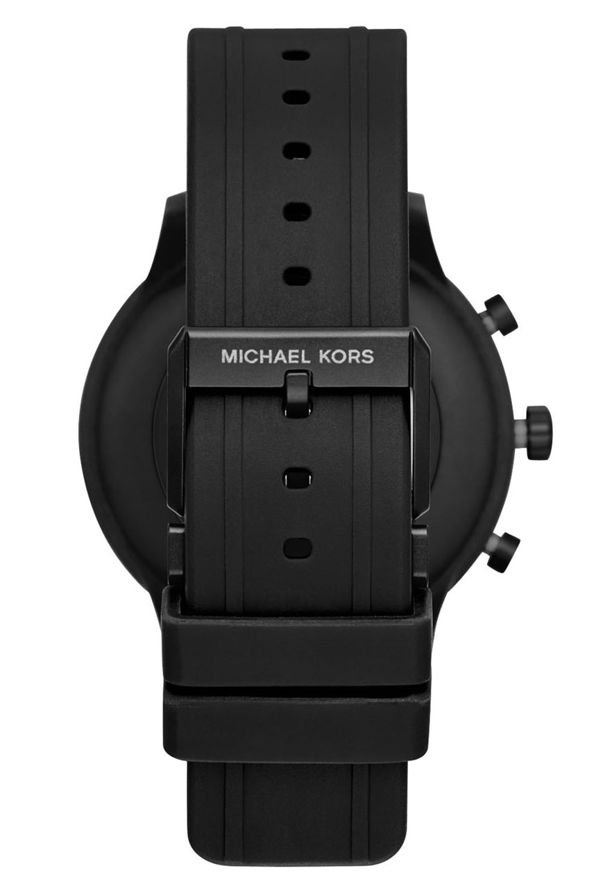 Mkgo Black Smartwatch