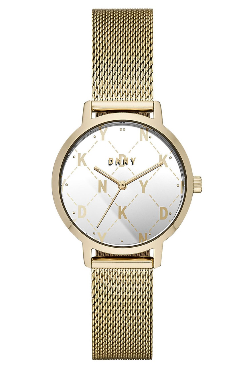 The Modernist Gold-Tone-Tone Analogue Watch