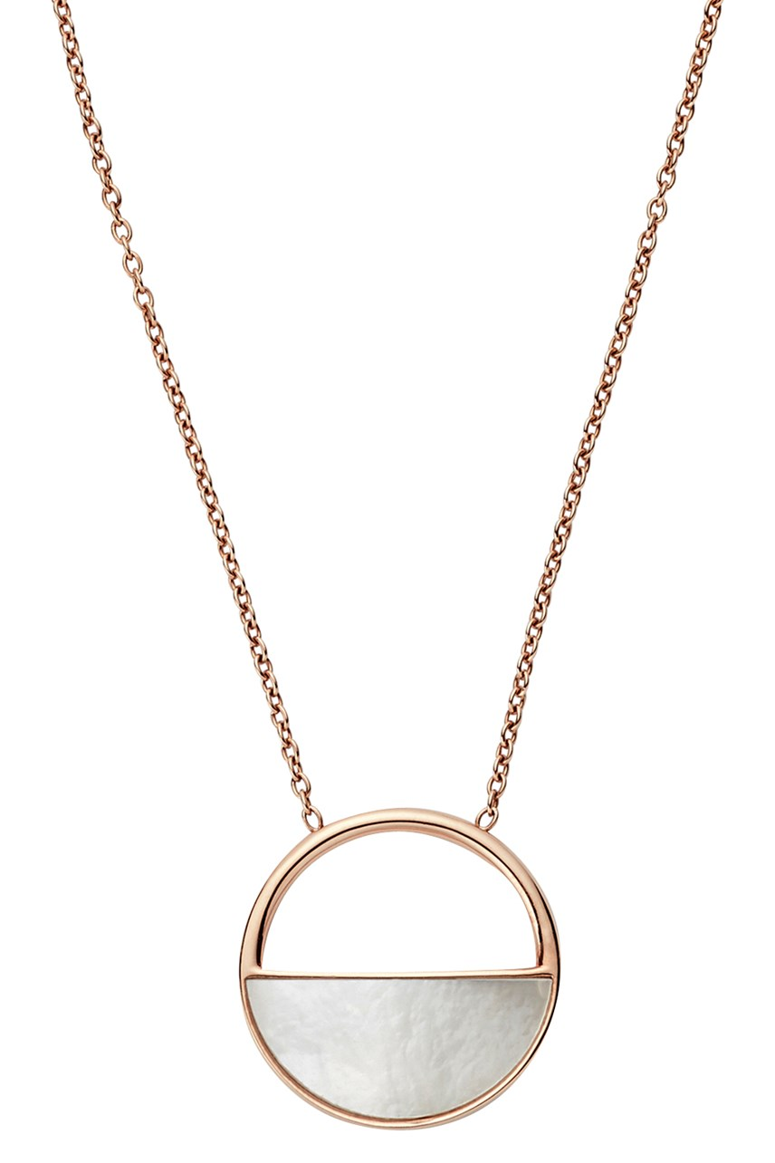 Agnethe Rose Gold-Tone Necklace