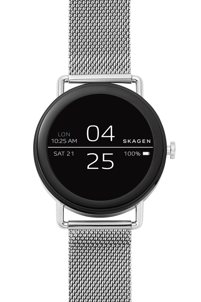 Men's Smartwatch Falster Silver-Tone