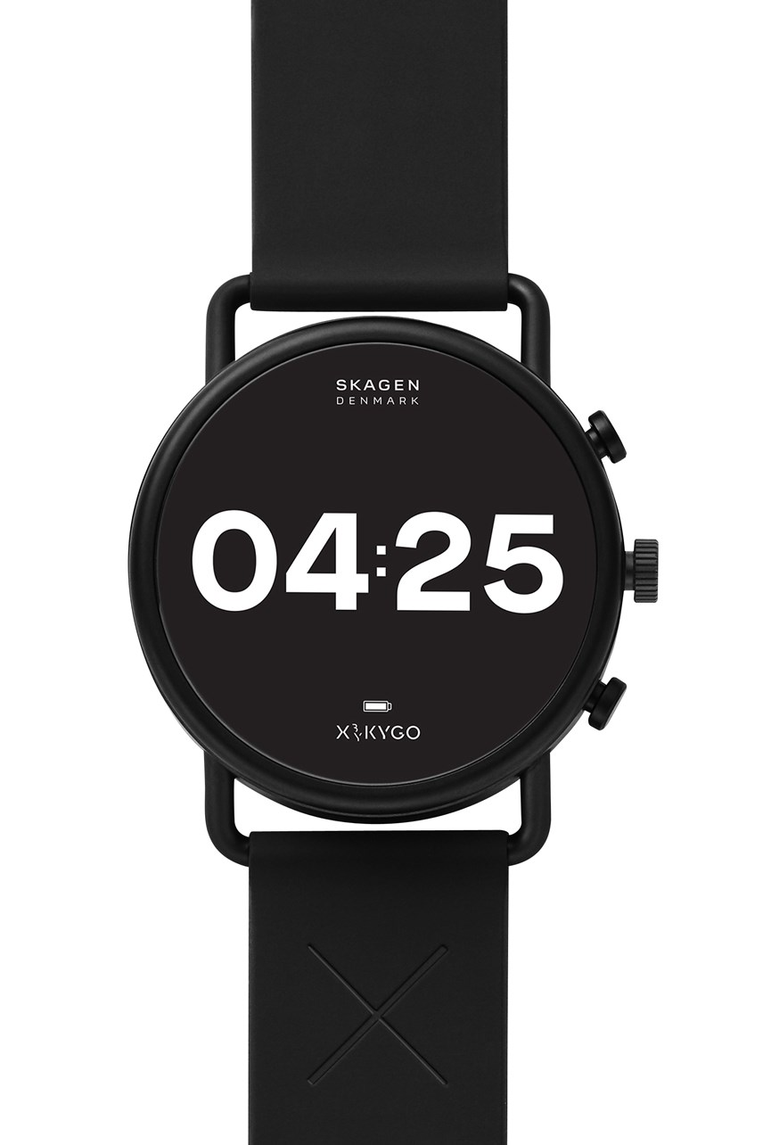 Men's Falster 3 Black Display Smartwatch