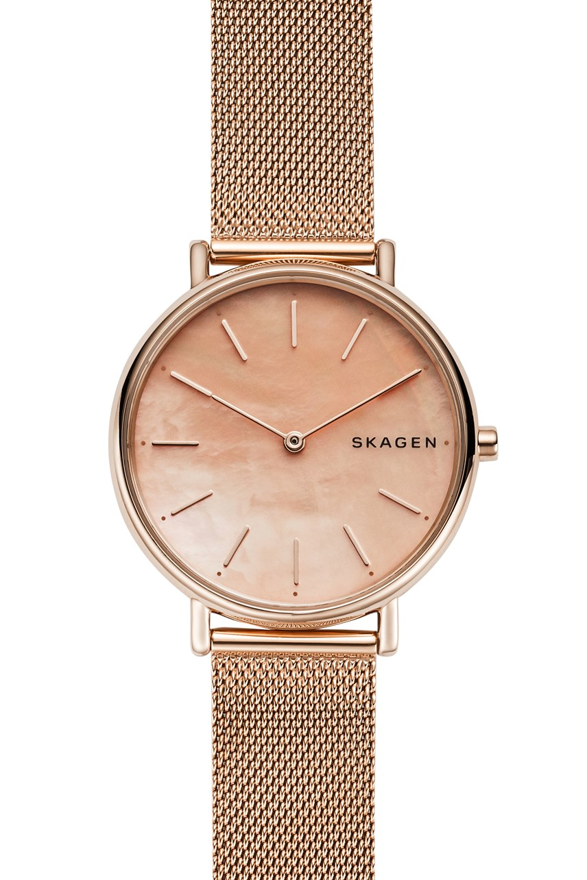 Women's Signatur Rose Gold Analogue Watch