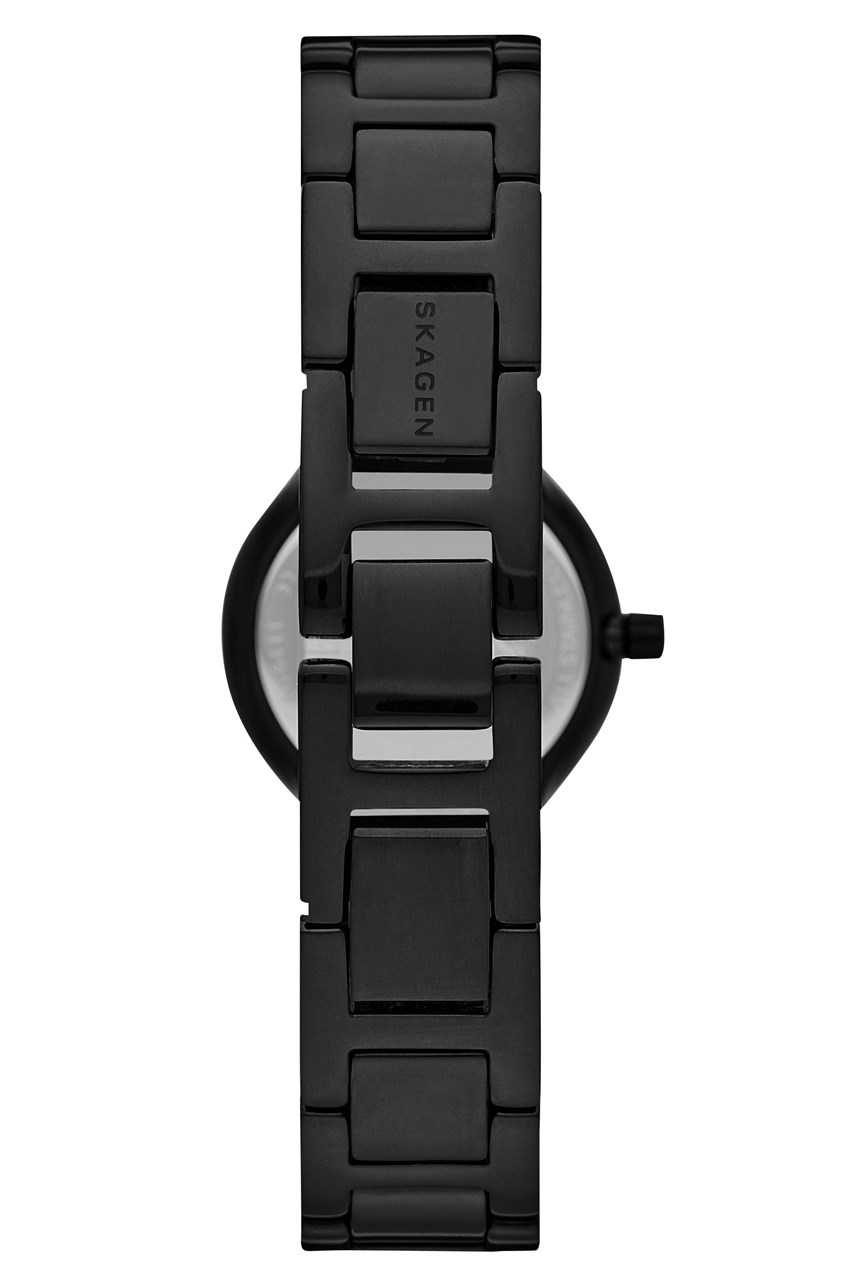 Freja Black Analogue Watch