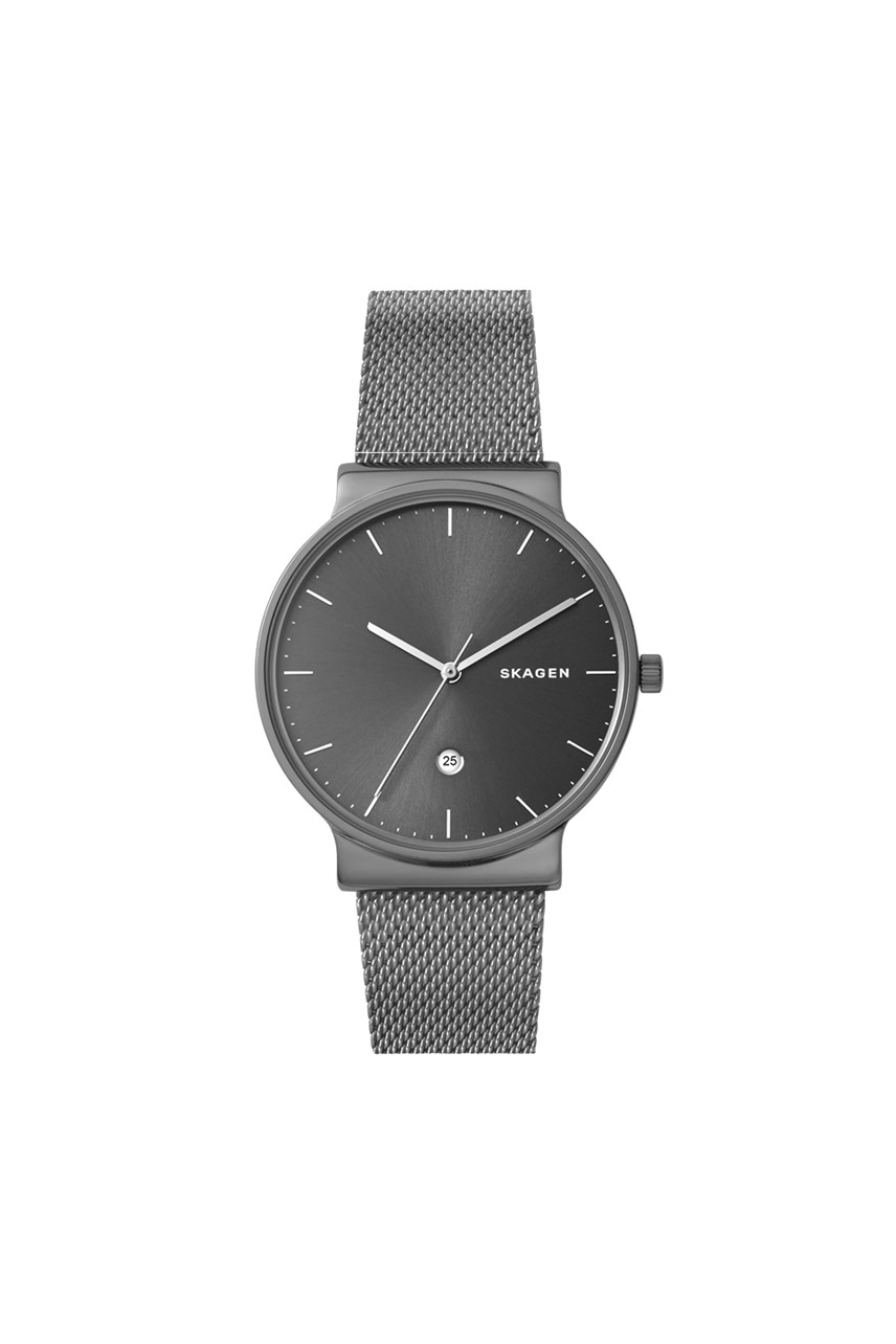 Men's Ancher Grey Analogue Watch