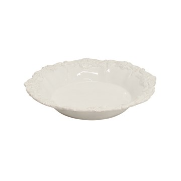 Laurente Salad Bowl - white