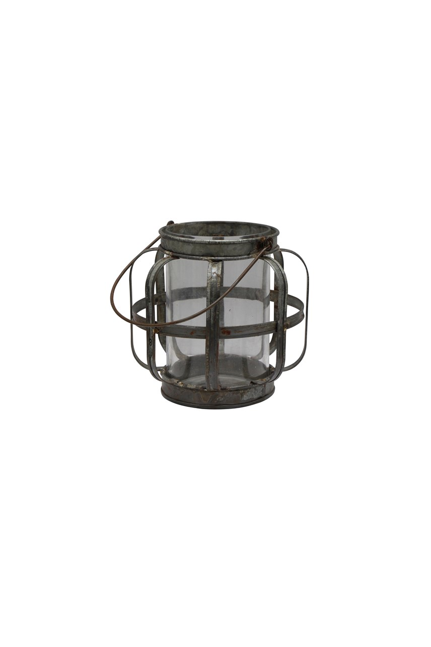 Mini 'Harlow' Metal Lantern