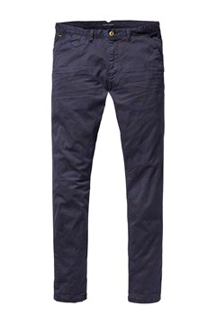 Garment Dyed Cotton Trouser Night (B) 1