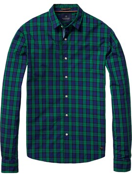Crispy Poplin Check Shirt 17 CHECKERED 1