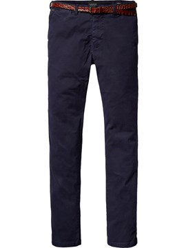 Straight Leg Chino 55 DENIM BLUE 1