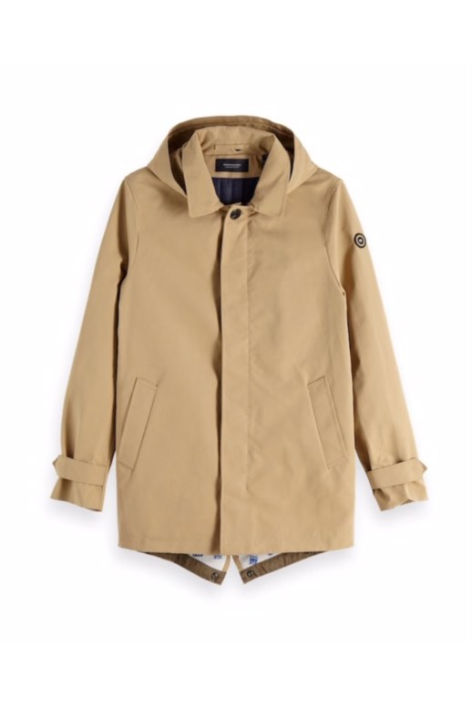 Classic Parka Jacket With Hood