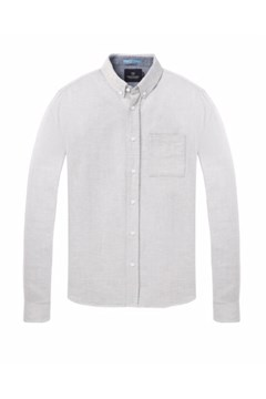 Shirt In Brushed Melange 0606 GREY ME 1