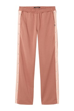 Dome Leg Track Pant DUSTY ROSE 1