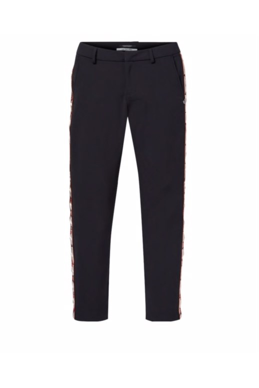 Embroidered Stretch Pants