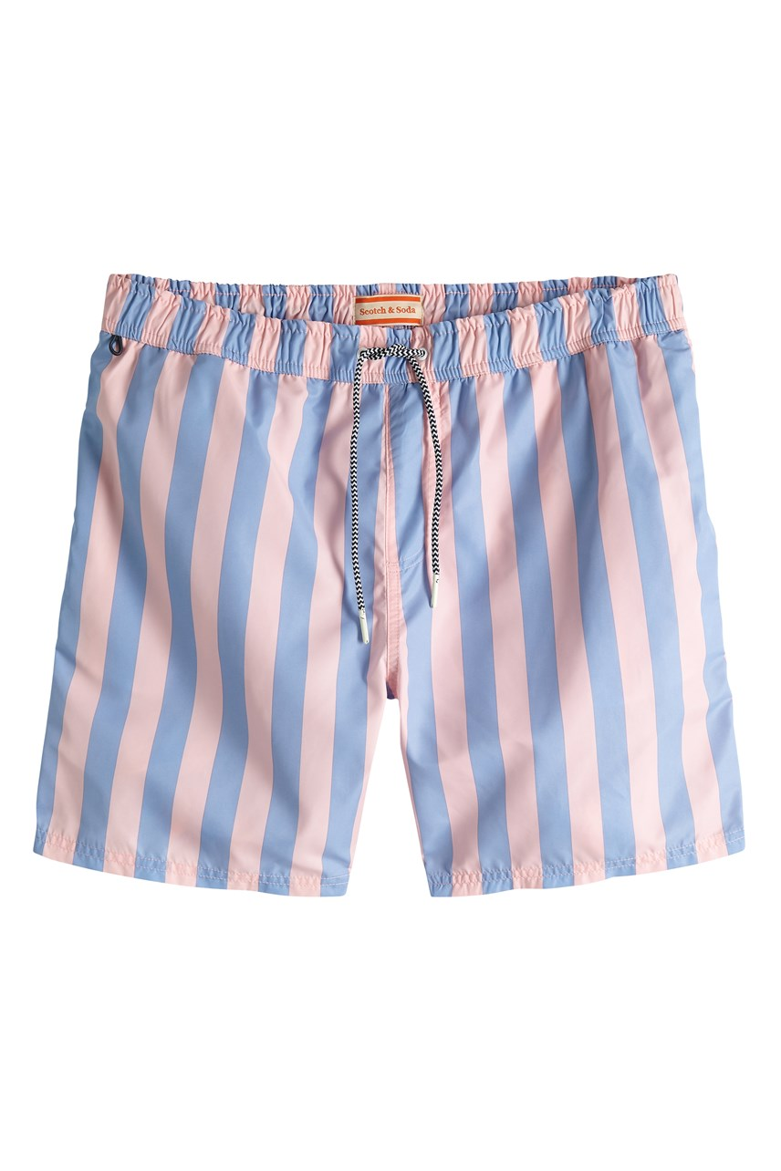 Stripe Swimshort