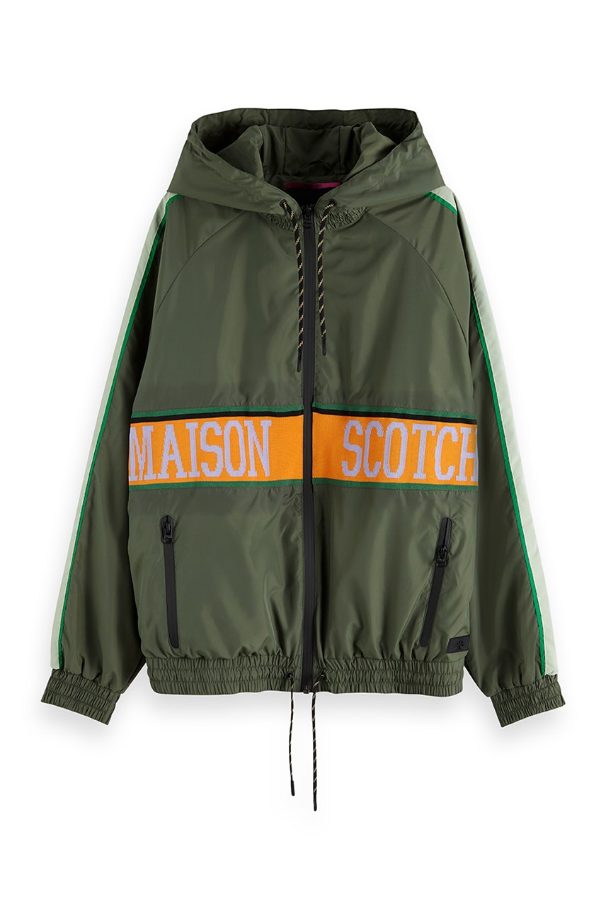 Sporty Nylon Jacket
