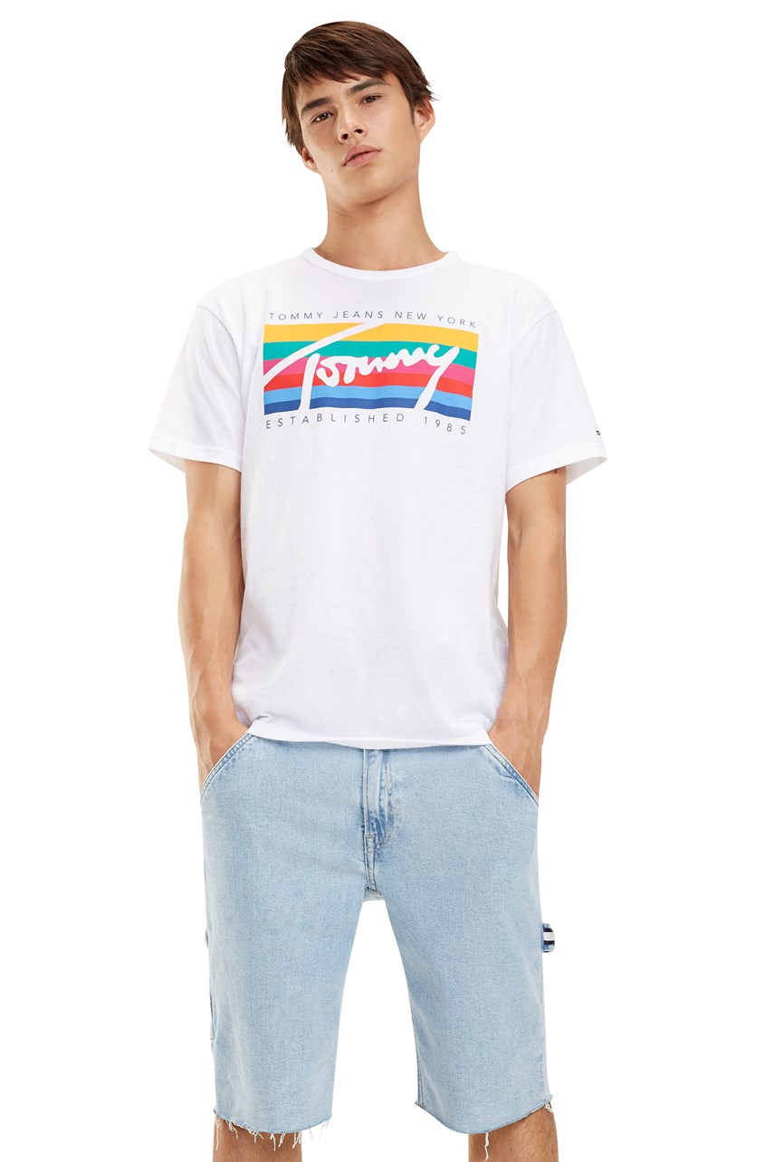Tommy Rainbow Box Tee