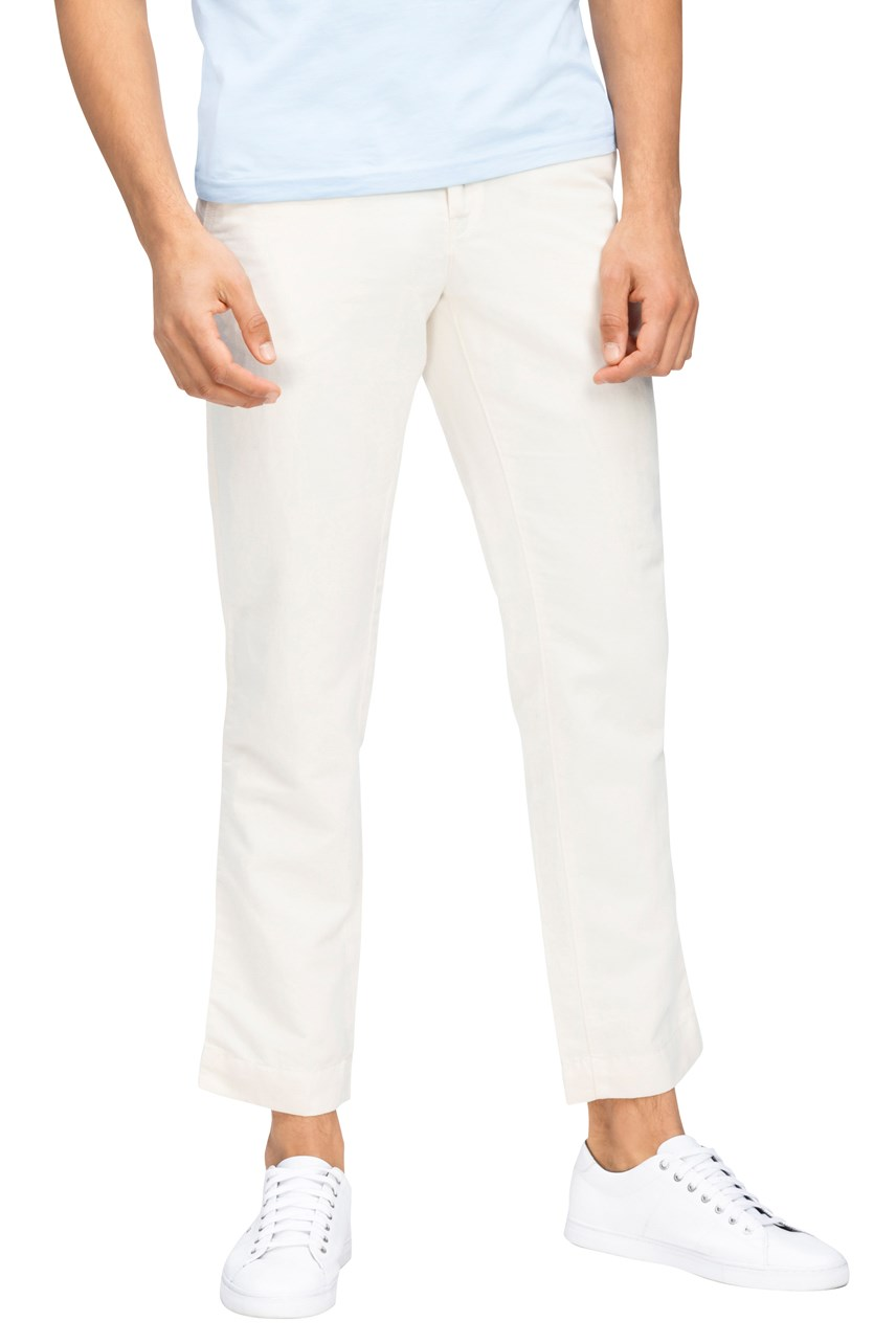 Mercer Chino Cotton Linen Pant