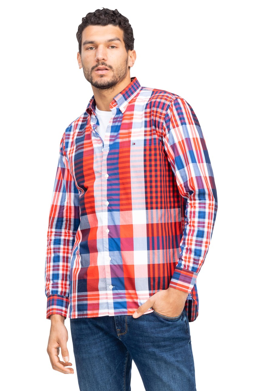 Relaxed Extra Large Check Shirt