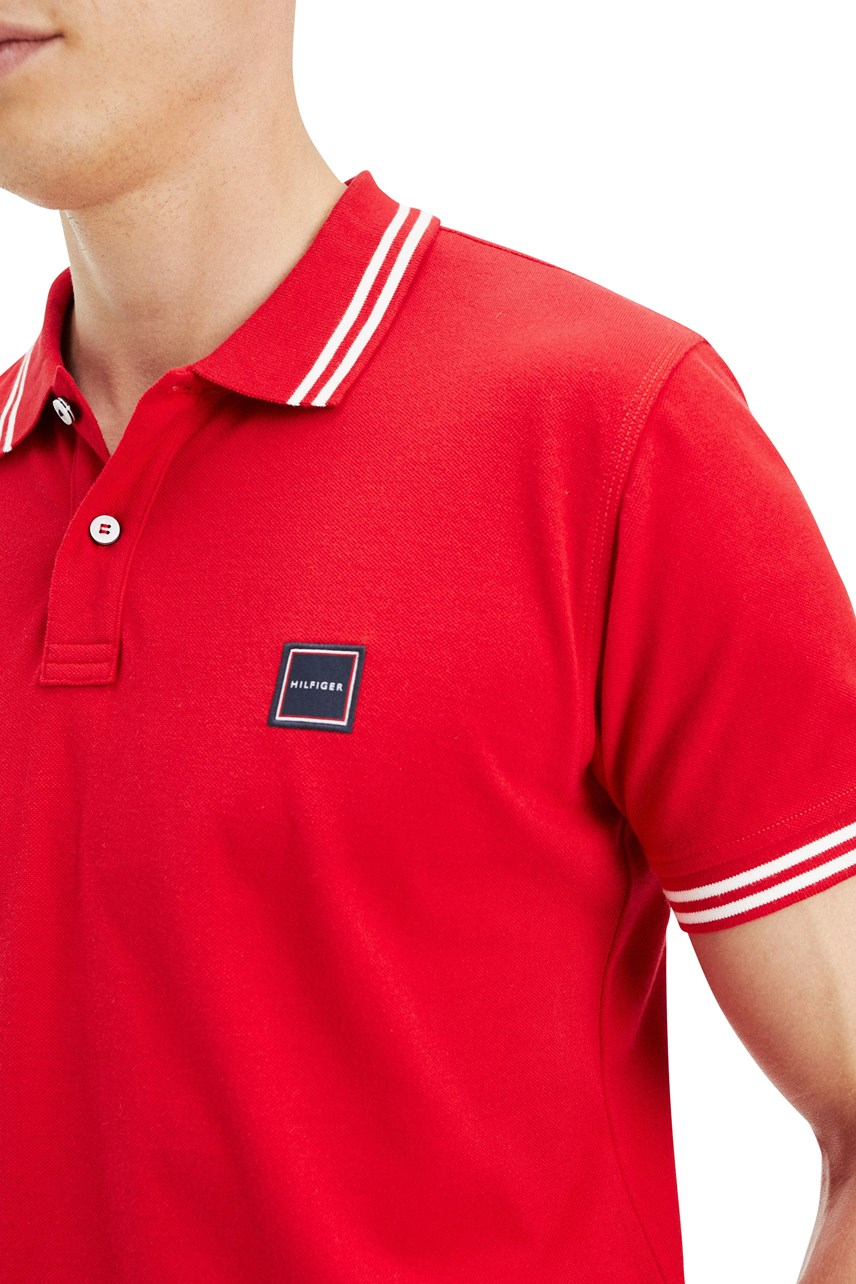Badge Tipped Polo