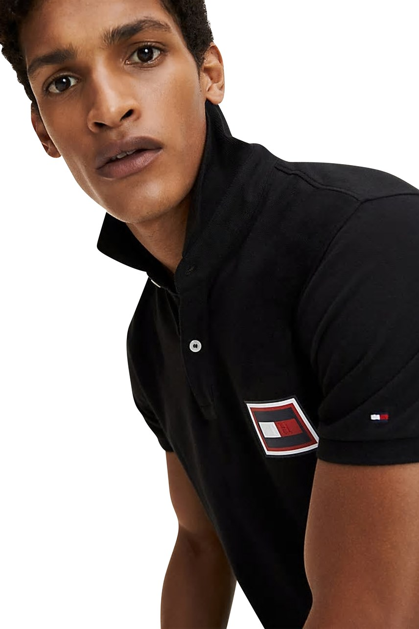 Embossed Flag Polo