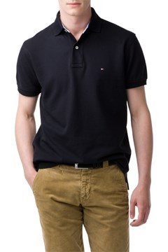 * Knit Polo T060 BLACK 1