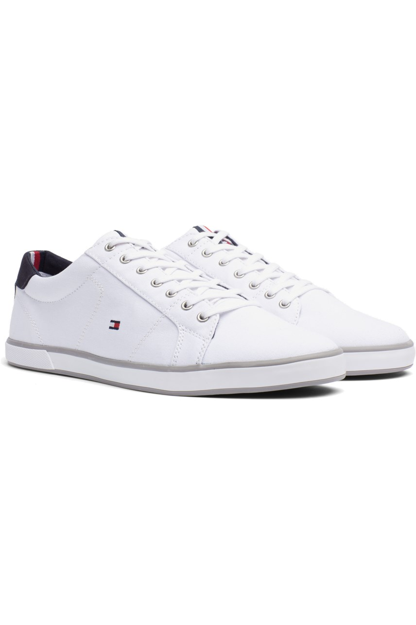 Canvas Lace Up Trainer