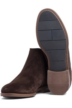 Chelsea Suede Boot - coffee bean