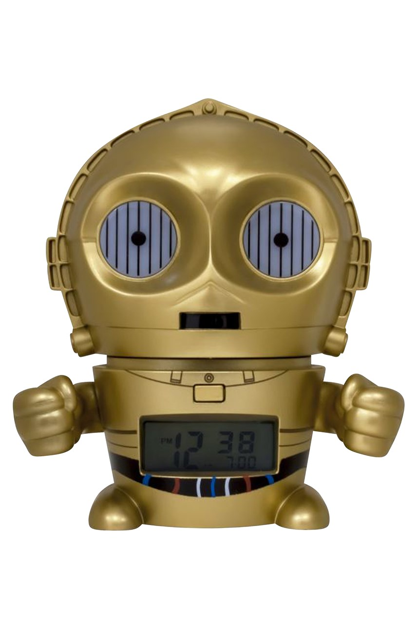 Star Wars C-3PO Nightlight Alarm Clock