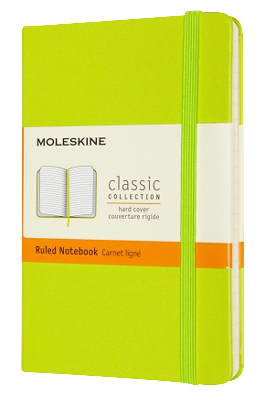 Classic Hard Cover Ruled Pocket Notebook