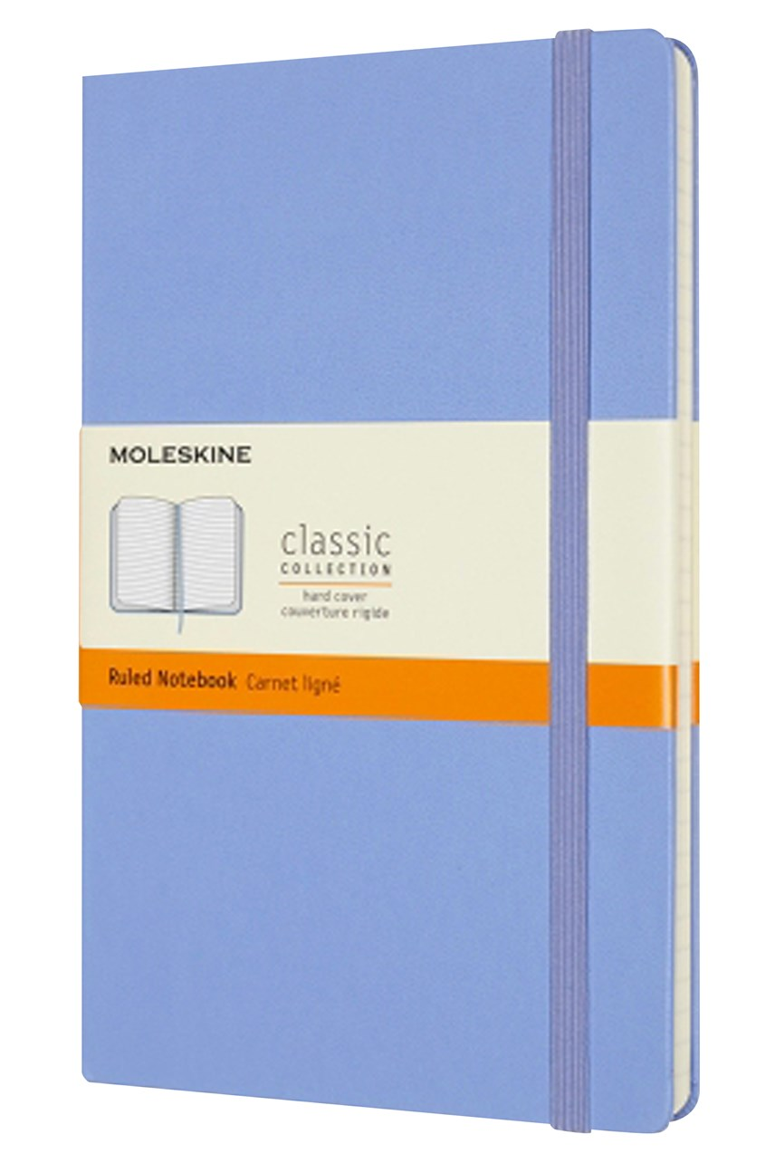 Classic Hard Cover Ruled Notebook L