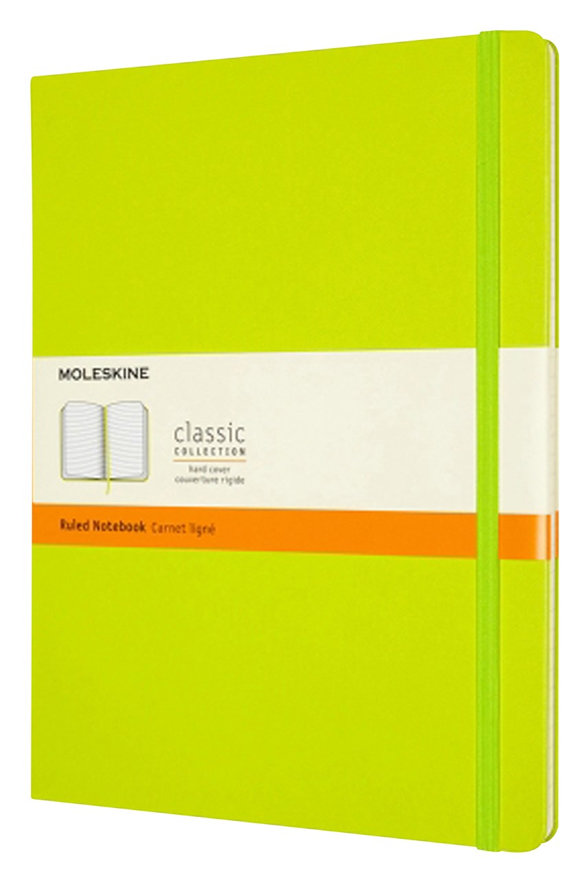 Classic Hard Cover Ruled Notebook - XL